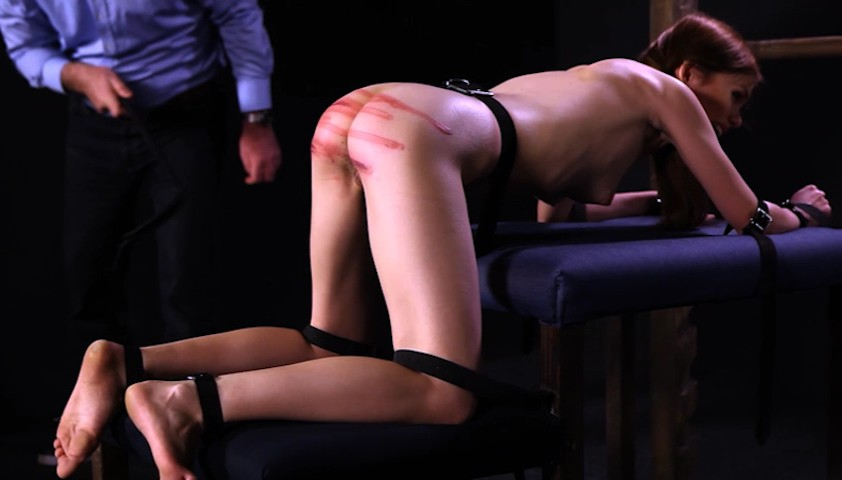 New BDSM Film: Whipping The Slave